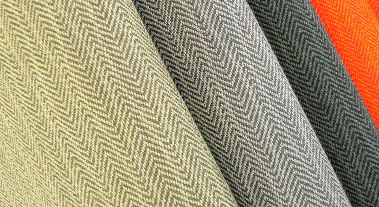 Pulse various color textile