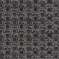 sample of Vienna Tile Grey/Black textile
