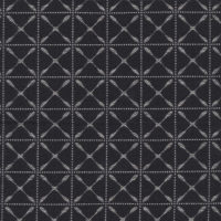 sample of Windrad Black Pixel textile