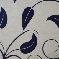 acoustic tile twister plus custom leaf pattern midnight off white closeup