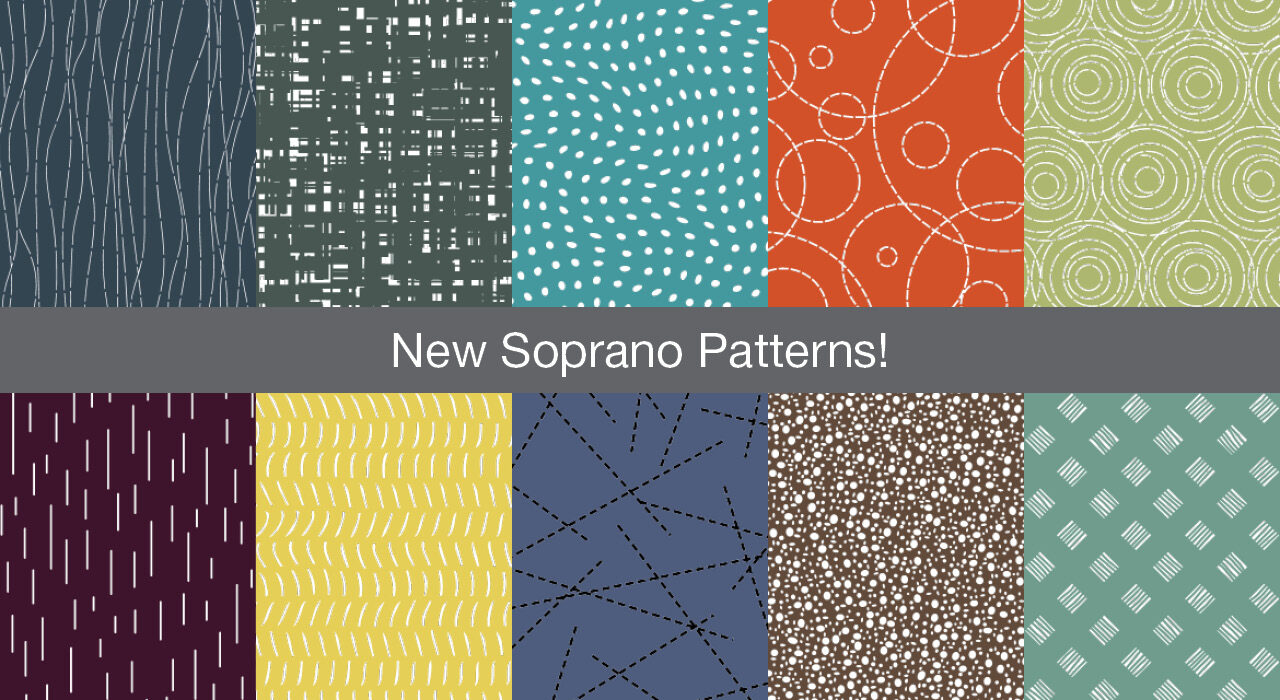 new patterns for screentrak soprano