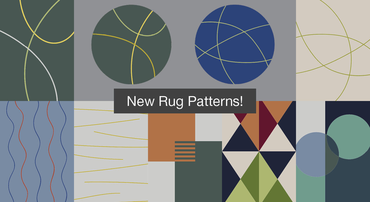 nine new patterns for rugs