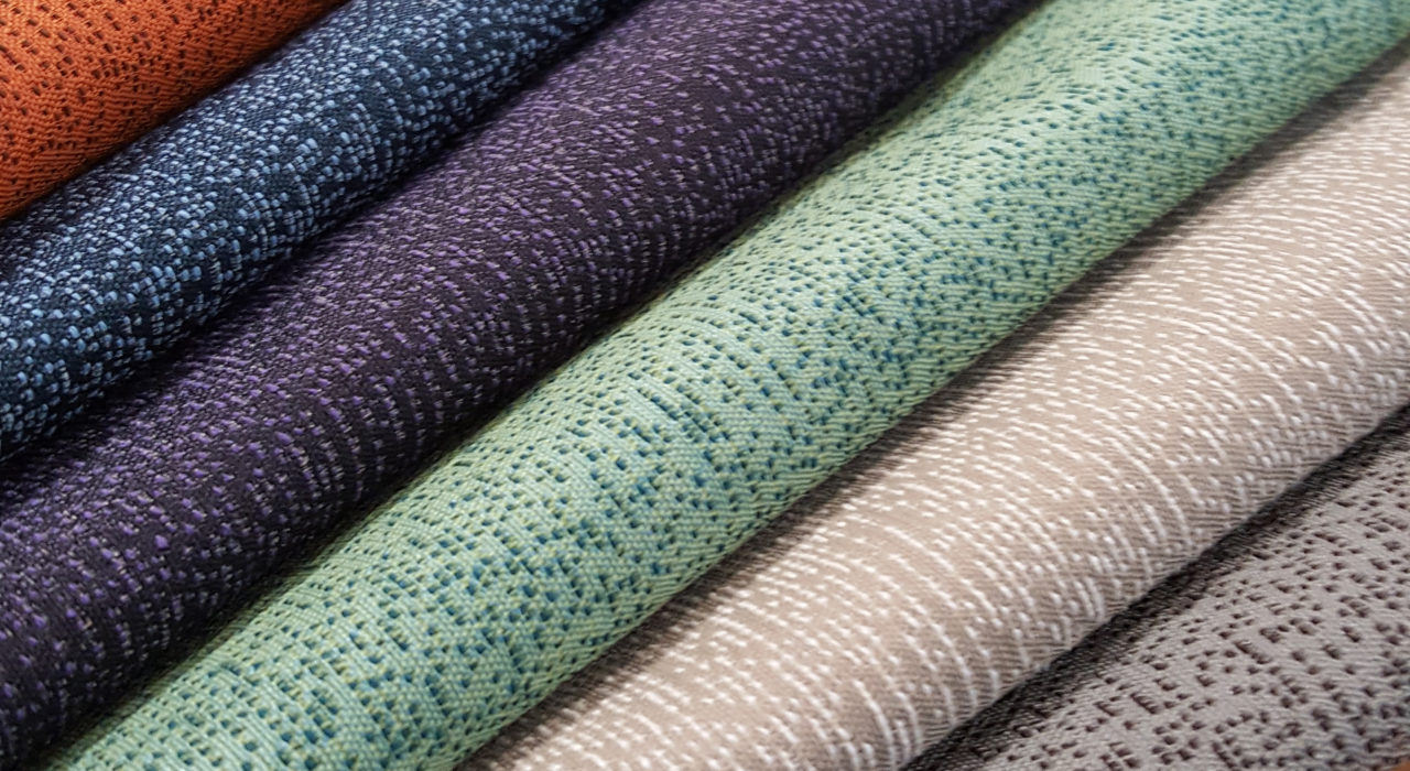 Crisp various colors textile 3