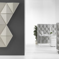 acoustic tile Bits Wall white