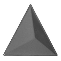 aircone grey triangular sound absorbing panels