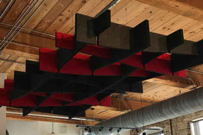 Interior-Elements-1-custom-ecoustic-arbor-charcoal-red-black-core-sound-absorption-close-up-wooden-ceiling