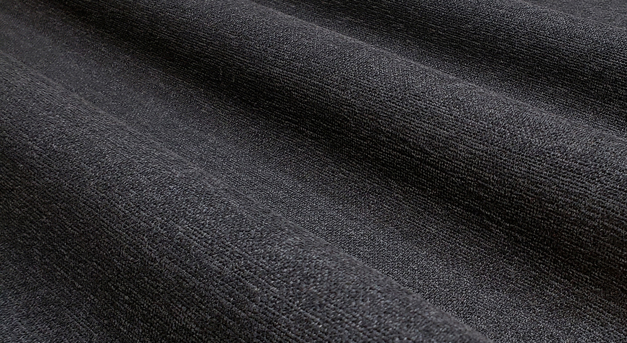 upholstery textile open curved with strong light and dark
