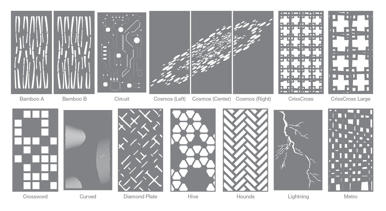 patterns of screentrak