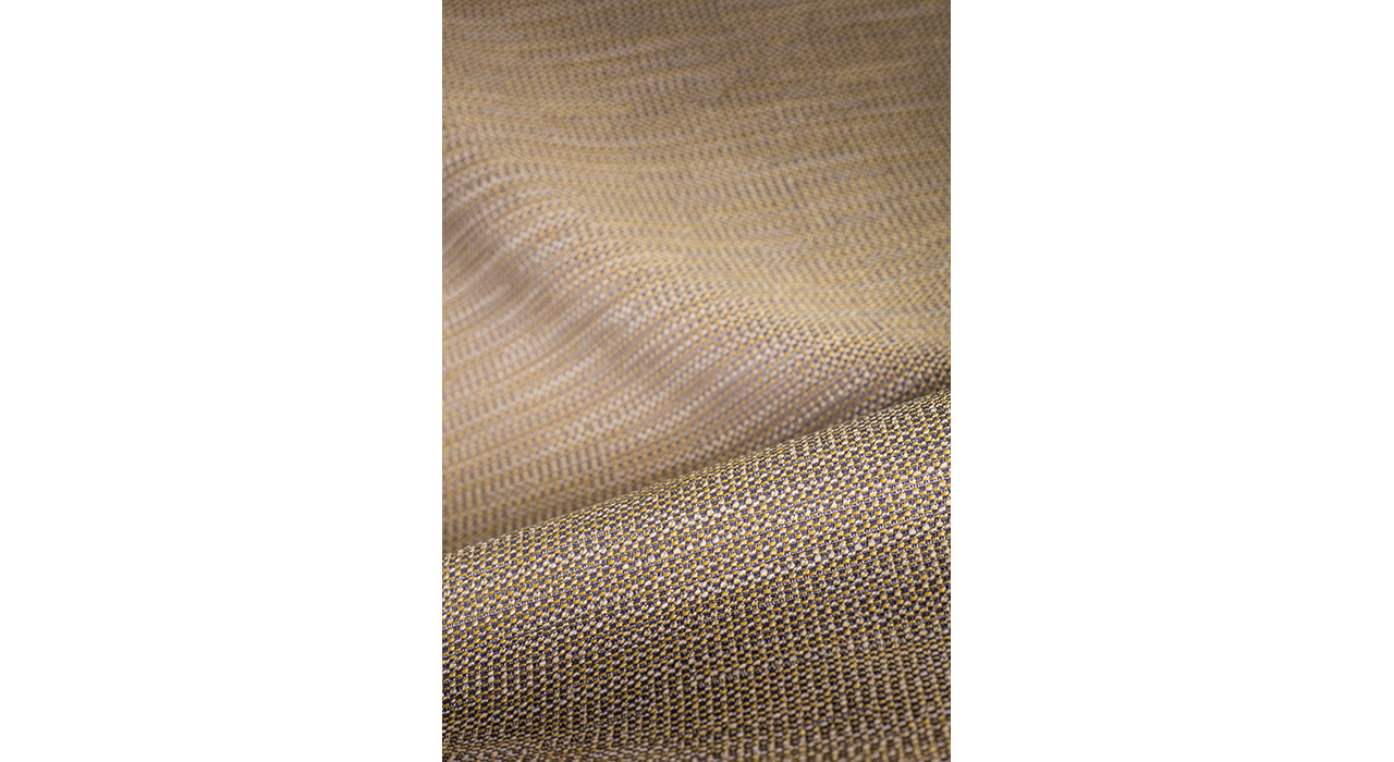tan upholstery textile textured and folded