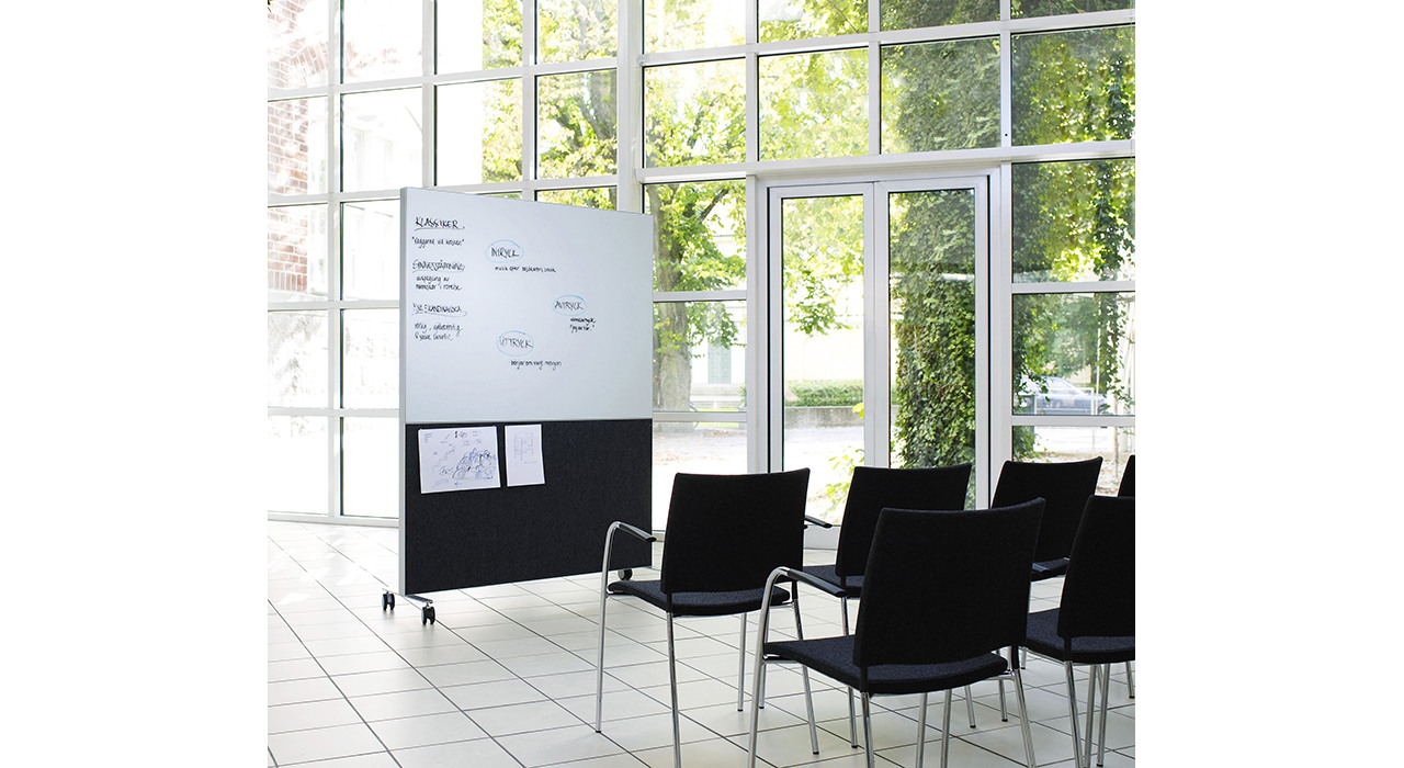 alumi combi screen large window conference room