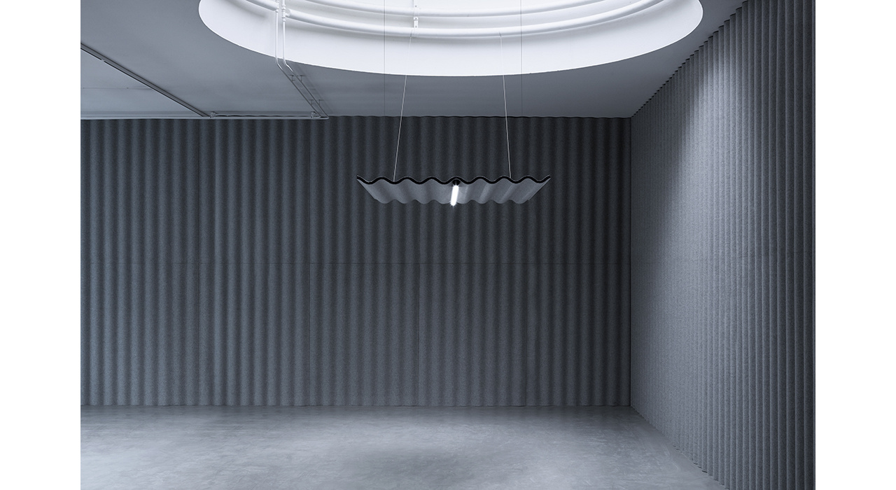 scala wall lighting grey acoustic