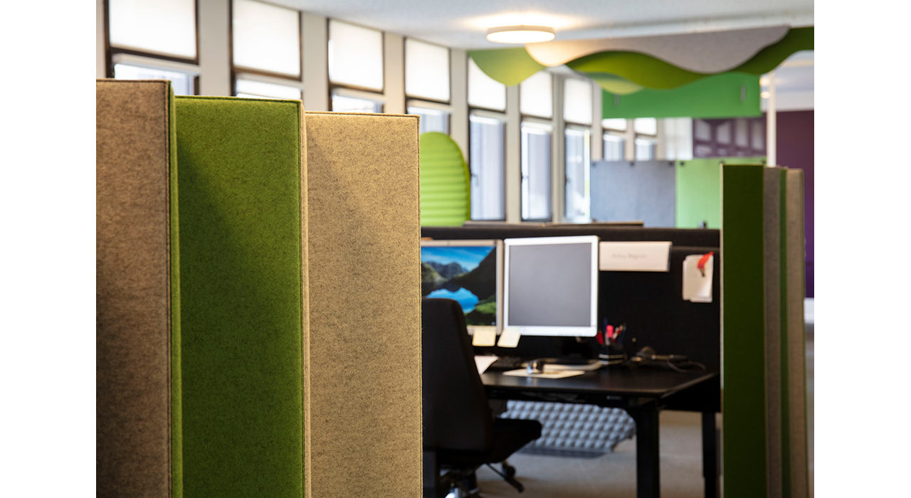 mixmcx felt divider in office