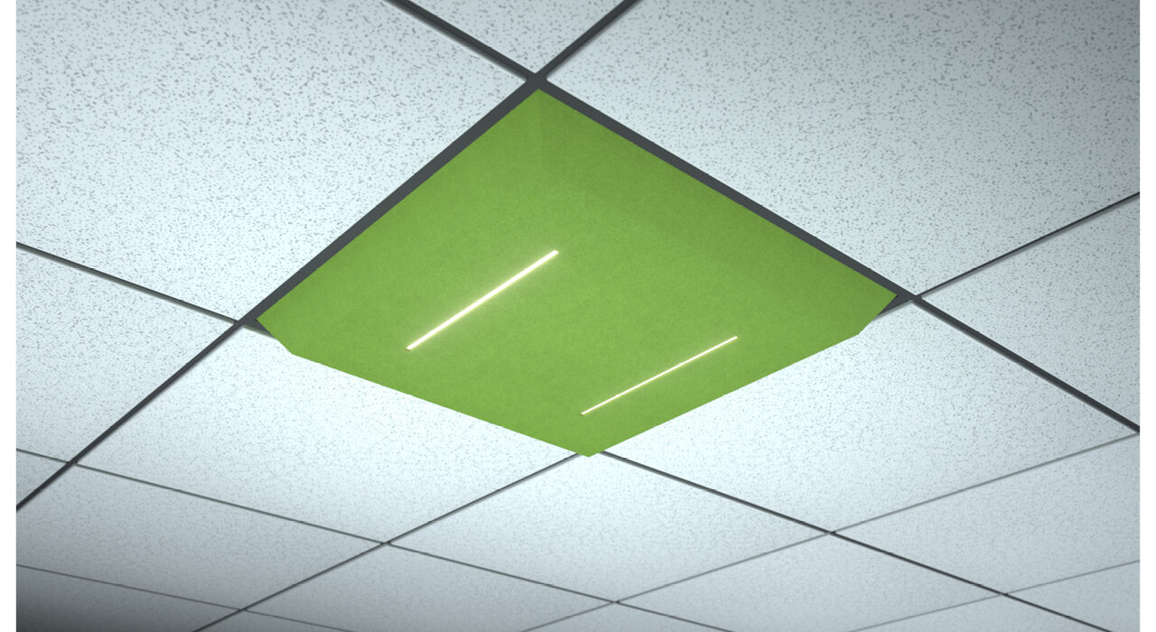 green lighted tile lineal logical dual